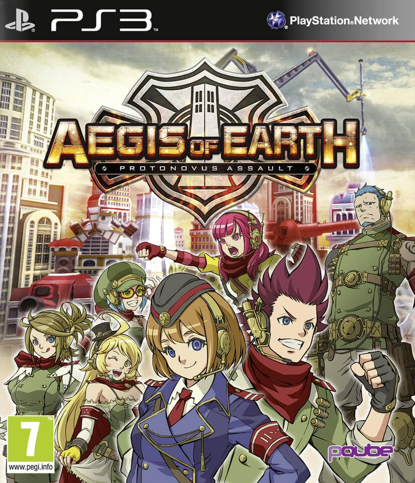 Pqube Aegis of Earth: Protonovus Assault
