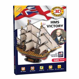 Cheatwell Games Build it 3D HMS Victory Puzzle
