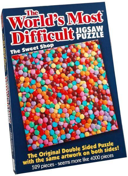 The Worlds Most Difficult Jigsaw The Sweetshop