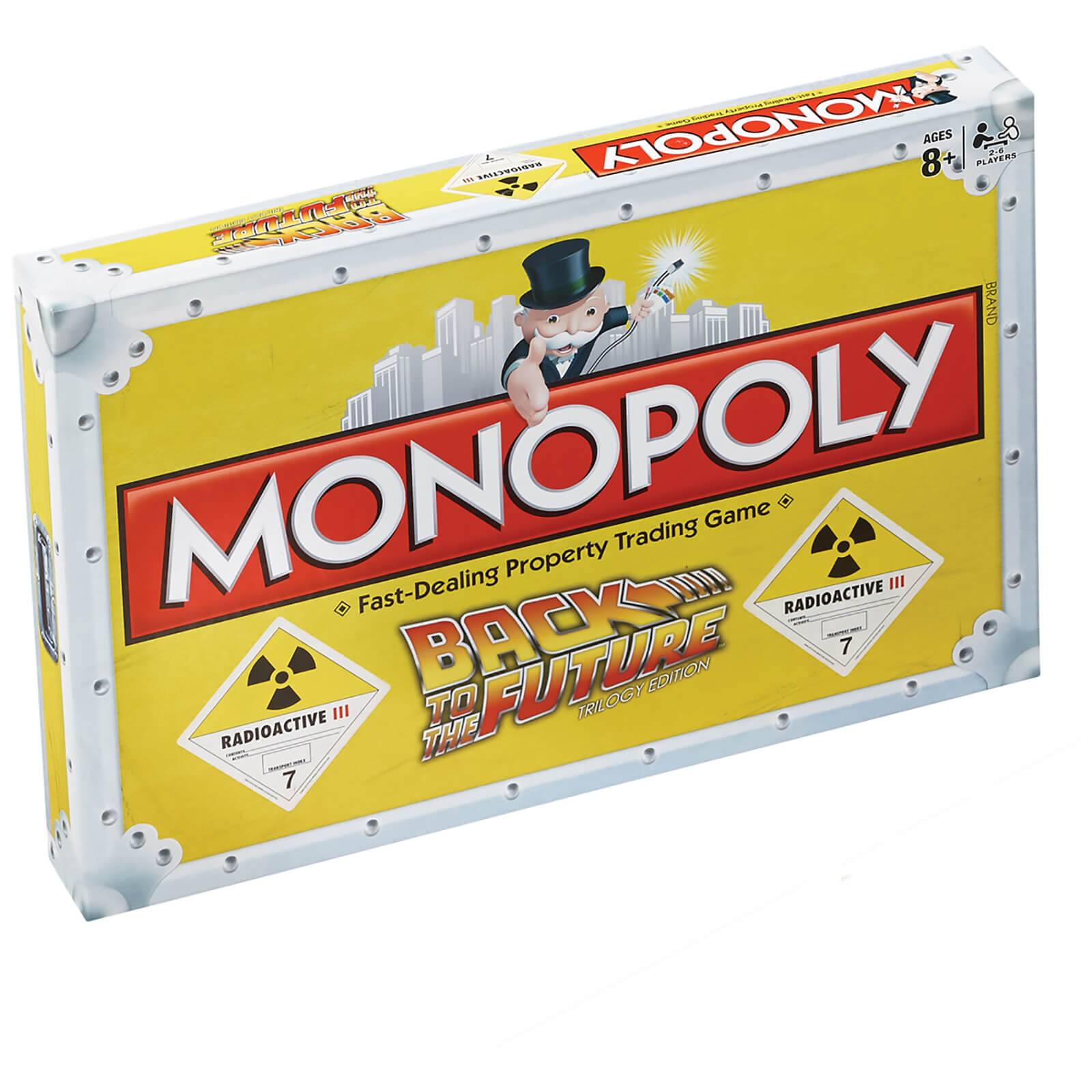 Winning Moves Monopoly - Back to the Future Edition