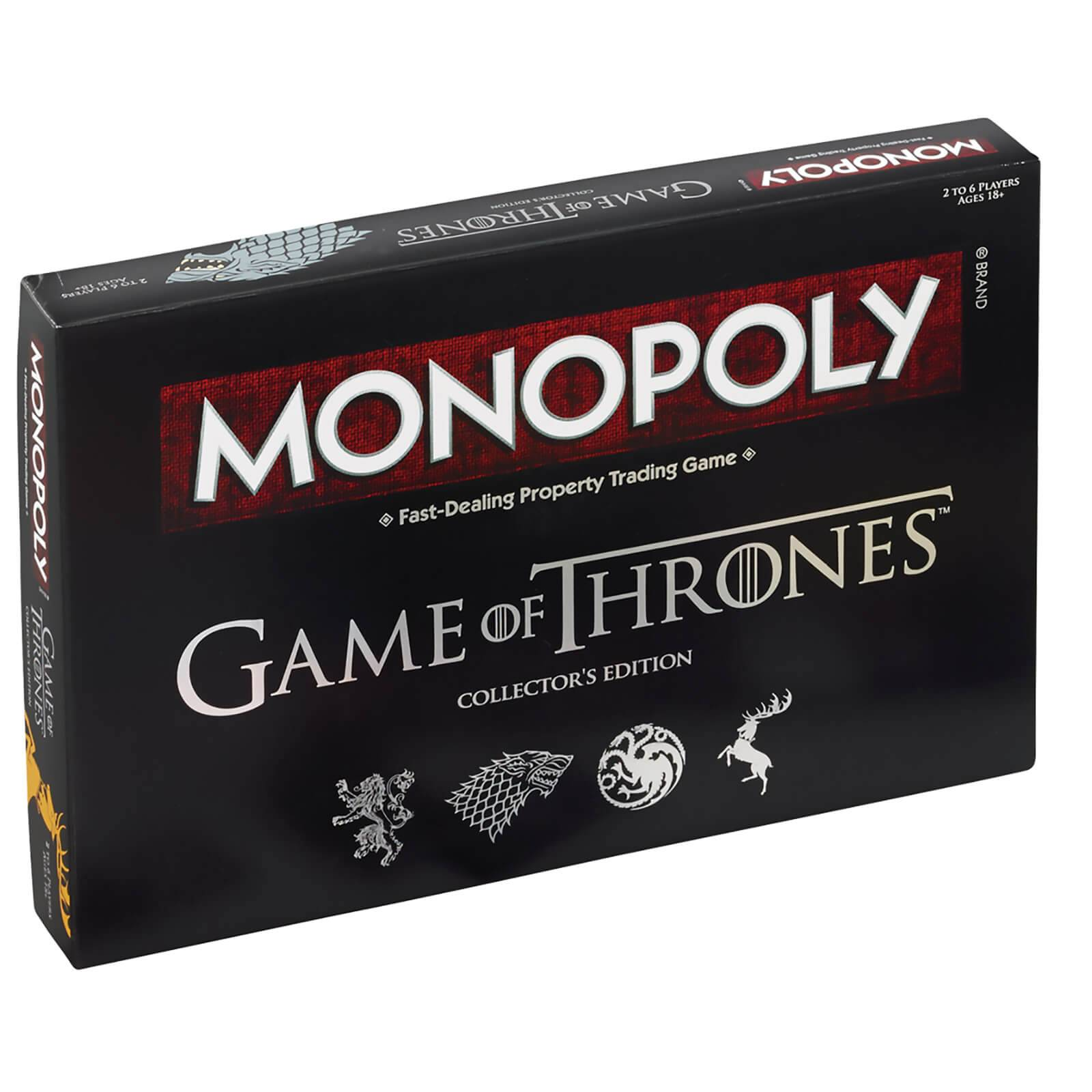 Hasbro Game of Thrones Monopoly Deluxe Edition