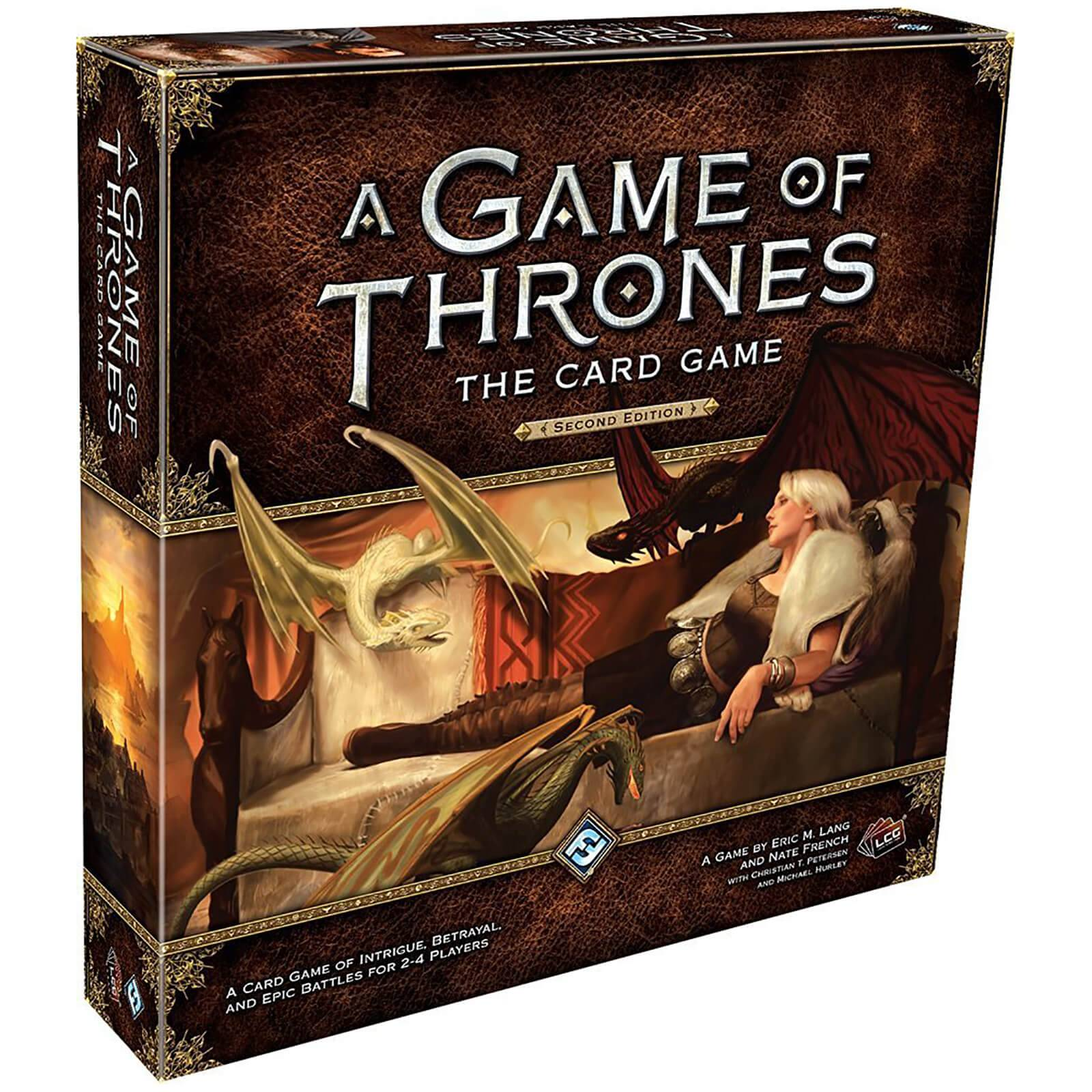 Asmodee A Game of Thrones LCG 2nd Edition Game (Core Set)