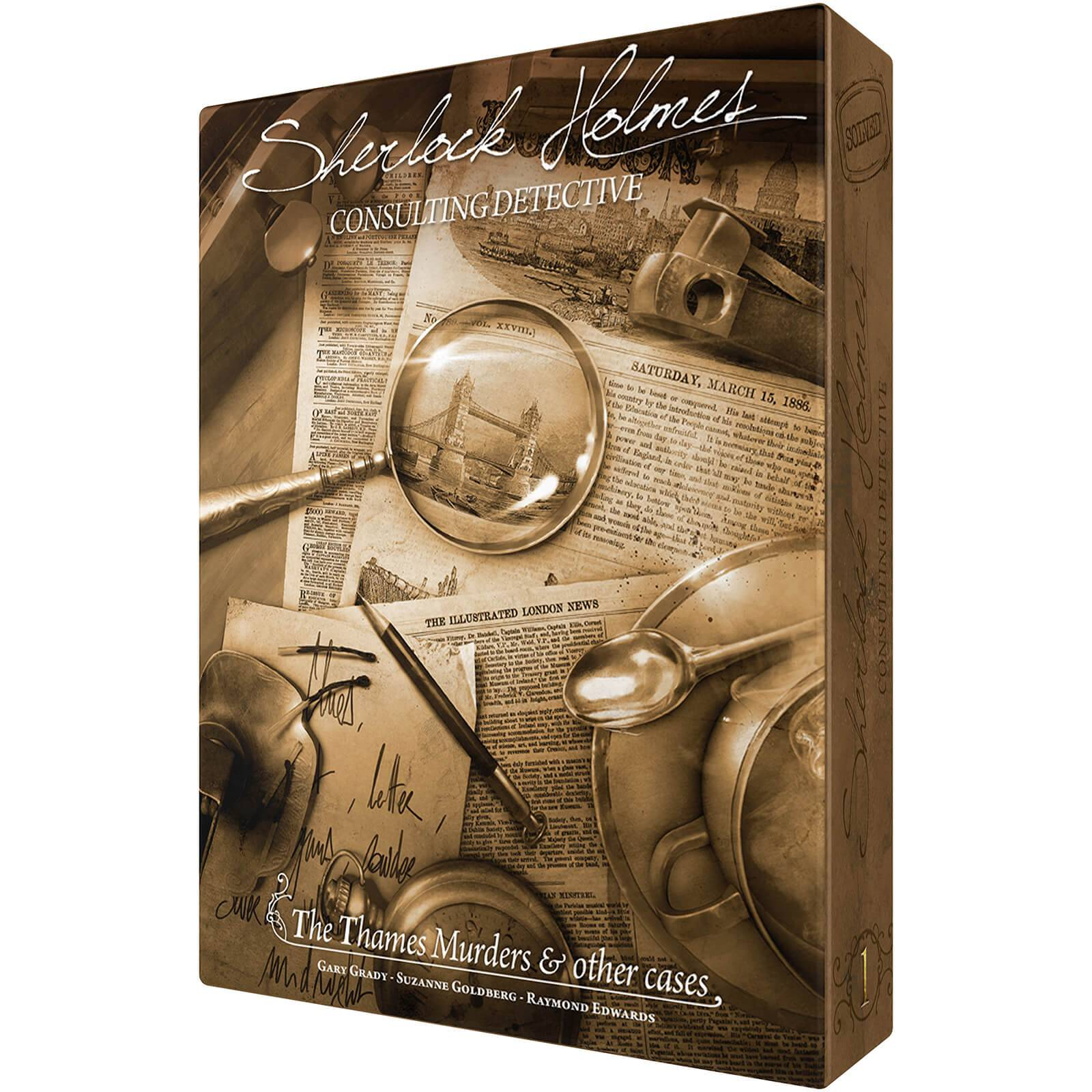 Asmodee Thames Murders: Sherlock Holmes: Consulting Detective Game