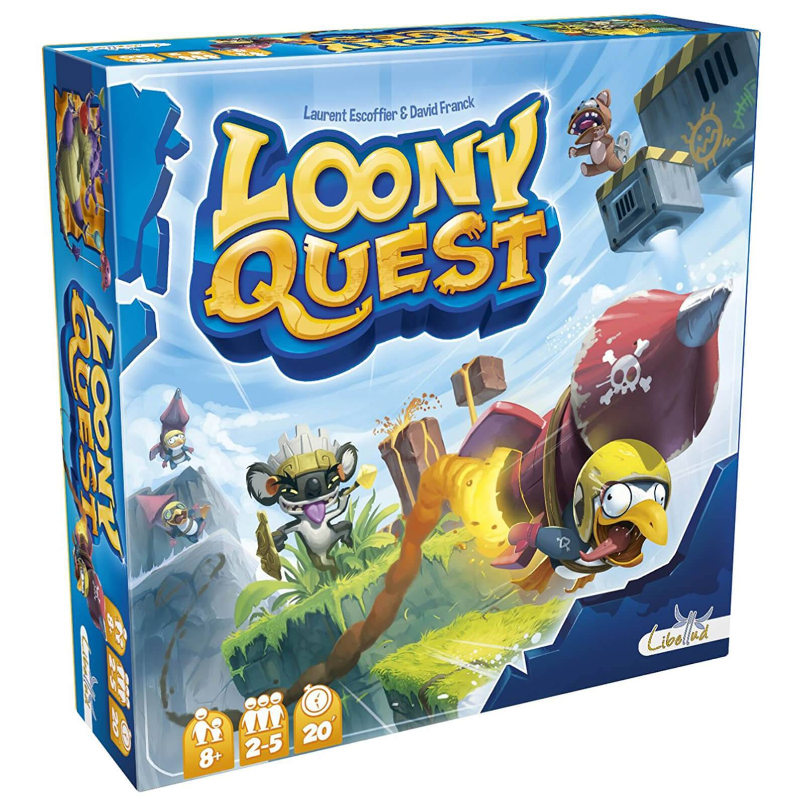 Asmodee Loony Quest Board Game