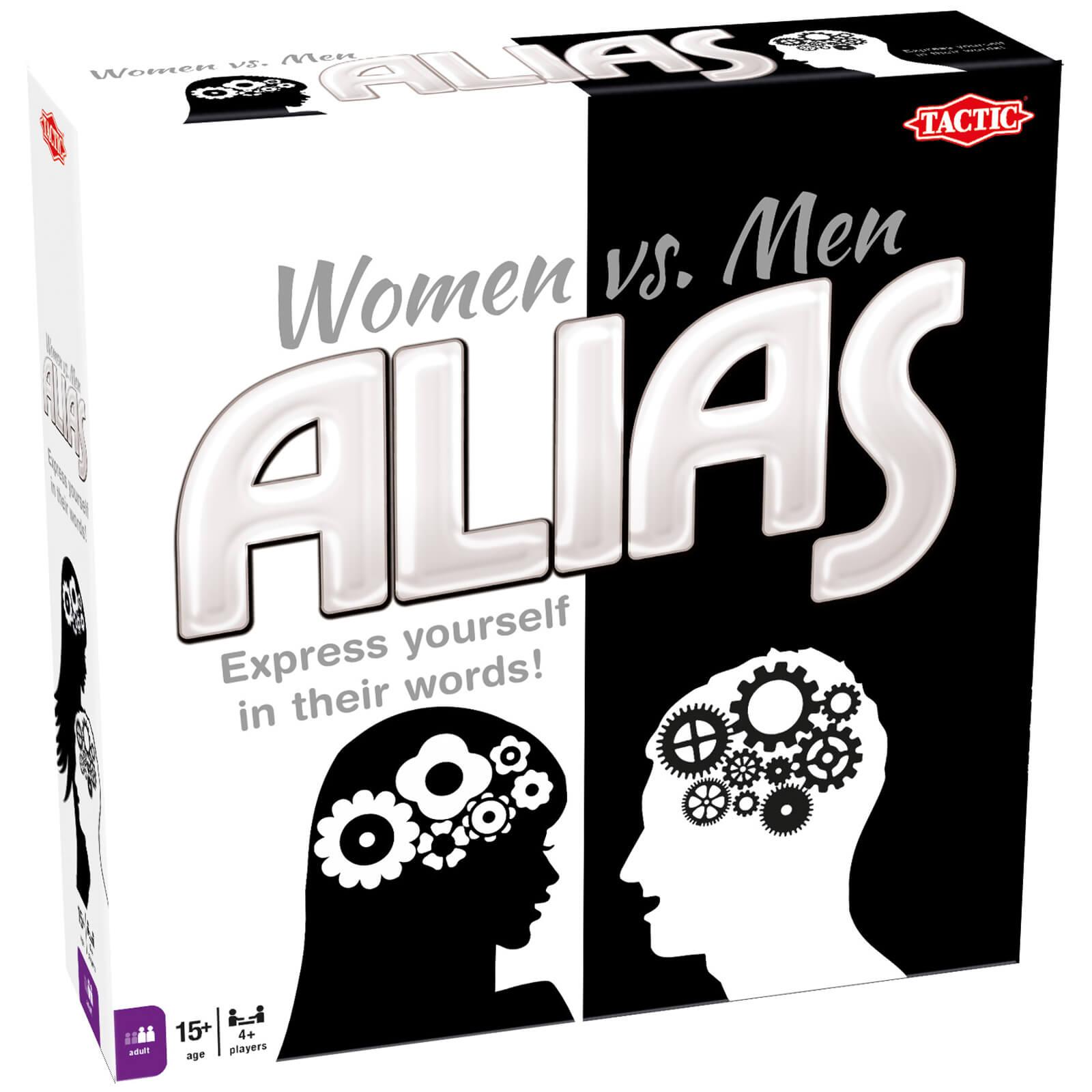 Tactic Games Alias Women vs. Men Game