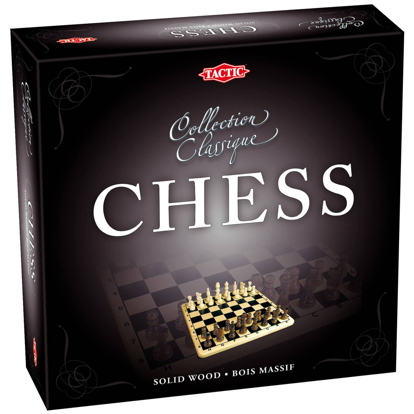 Tactic Games Chess in Cardboard Box