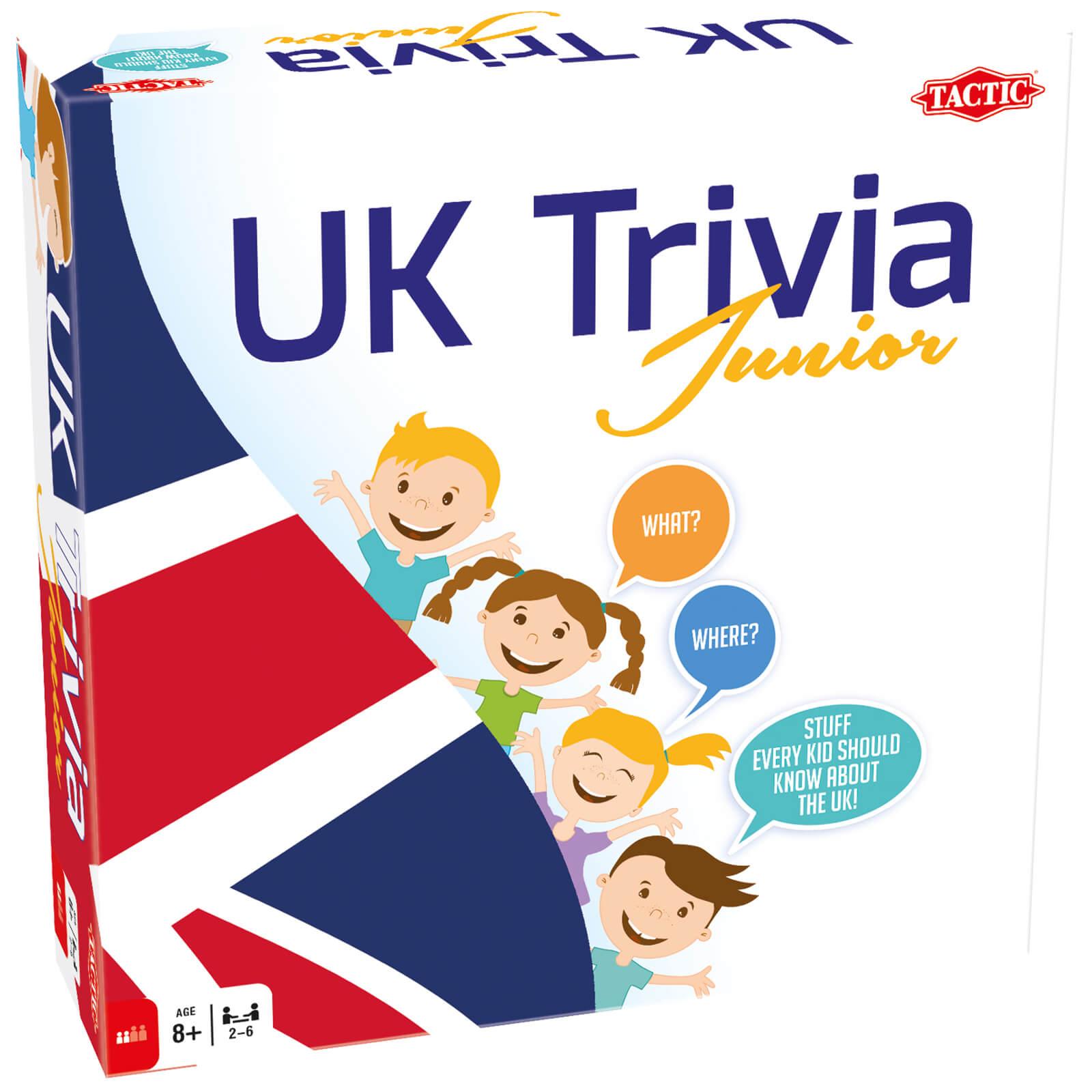 Tactic Games UK Trivia Junior Game