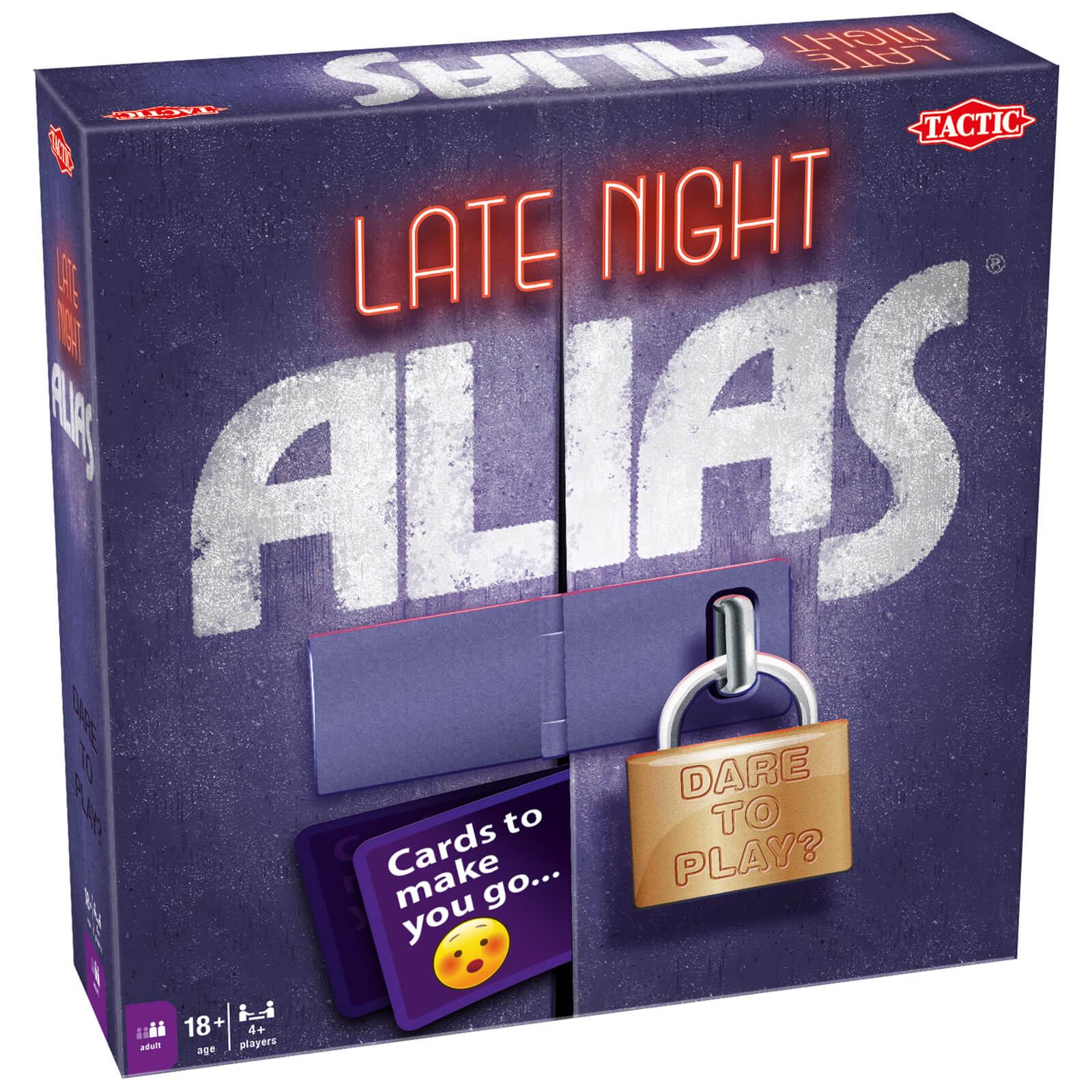 Tactic Games Late Night Alias Game