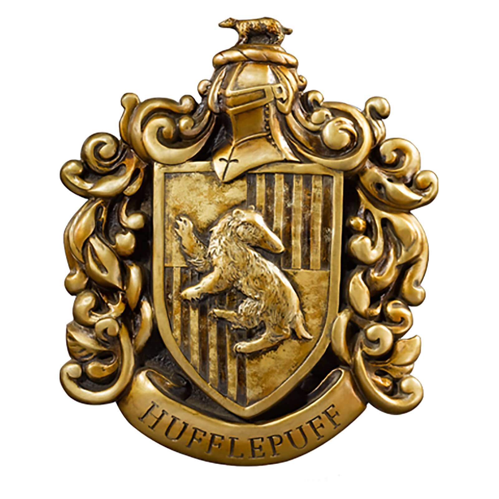 Noble Collection Harry Potter Huffelpuff Crest Wall Art