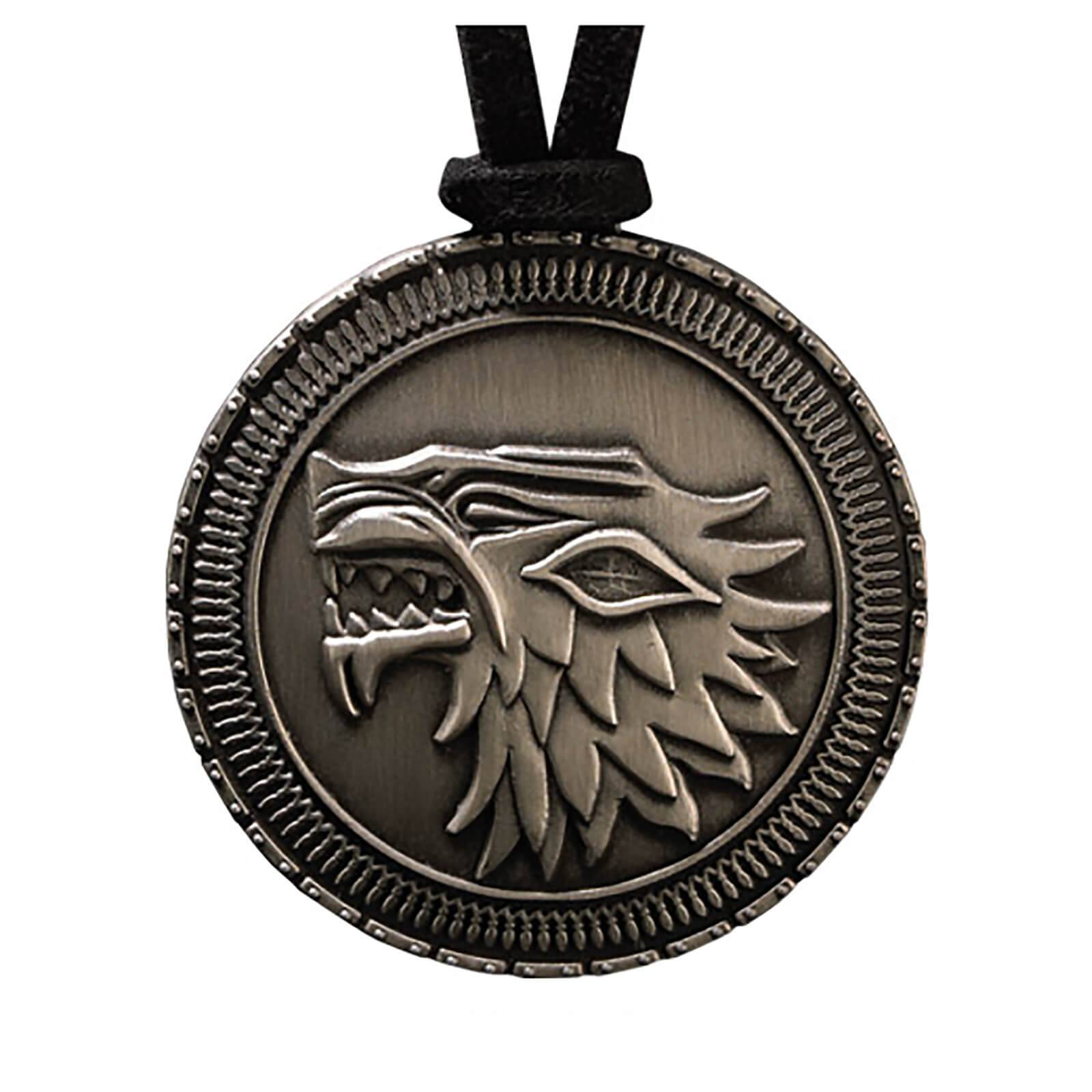 Noble Collection Game of Thrones Stark Shield Costume Pendant