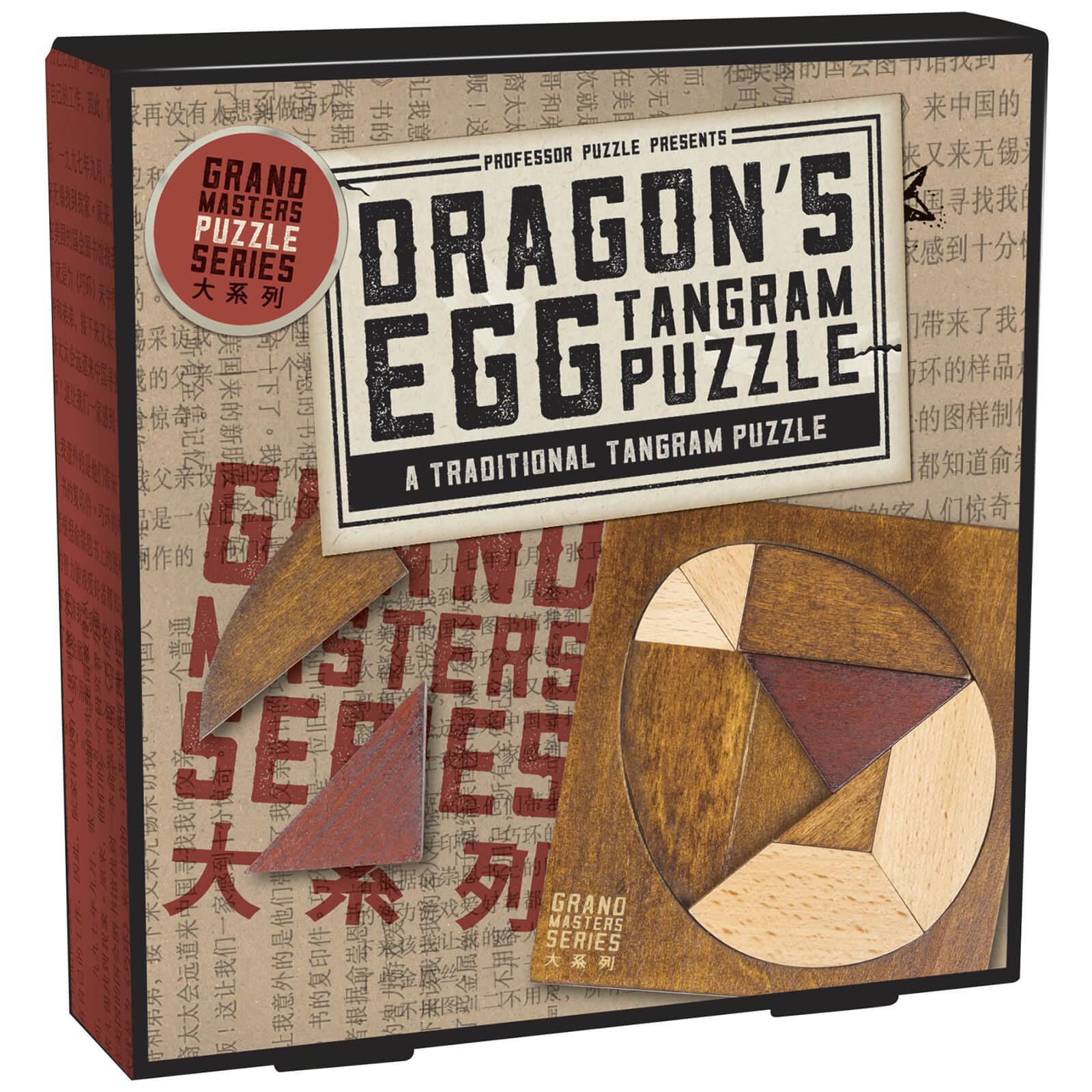 Professor Puzzle Grand Masters Dragon's Egg Tangram
