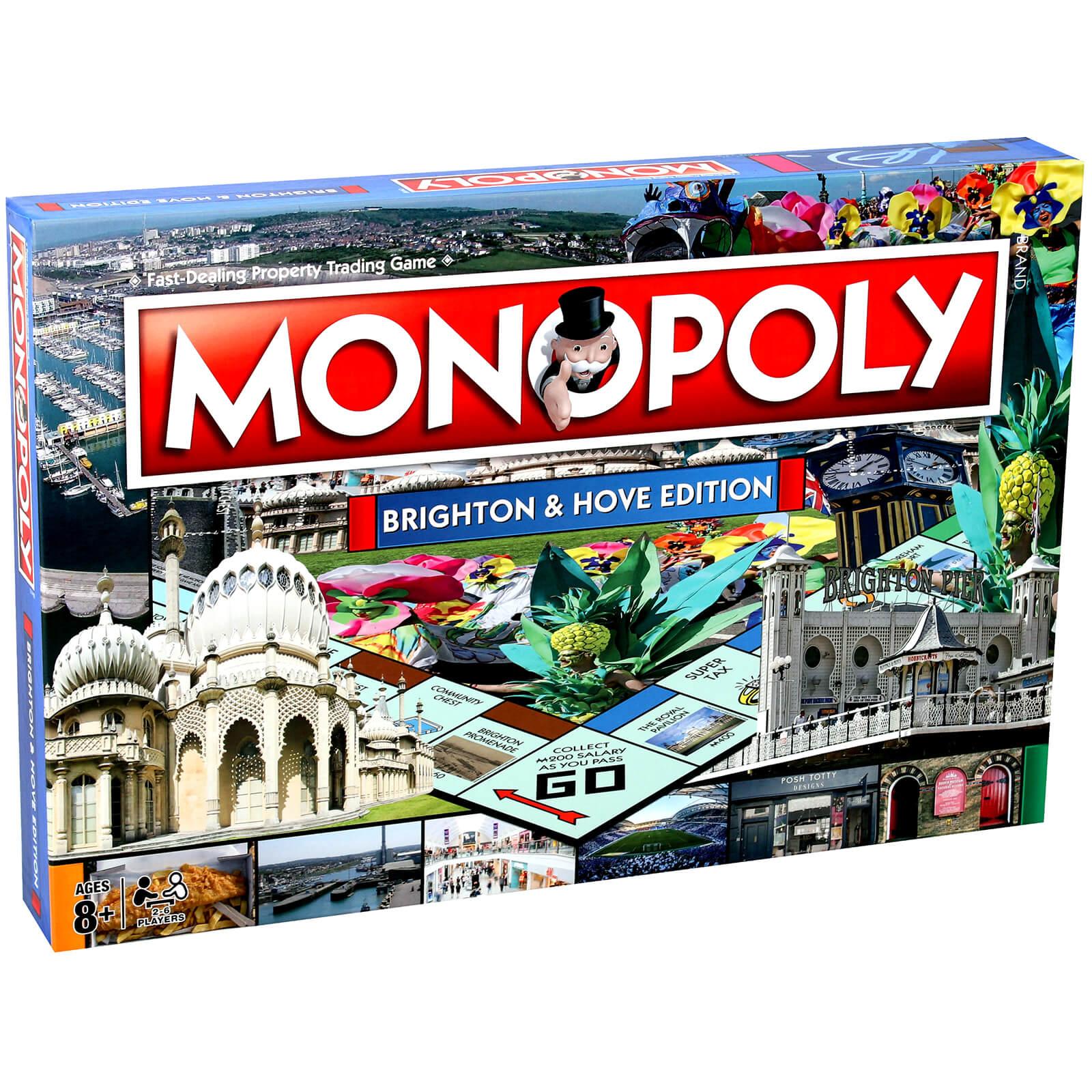 Hasbro Monopoly - Brighton & Hove Edition