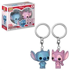 Pop! Keychain Disney Lilo & Stitch Stitch & Angel Pop! Keychain 2-Pack