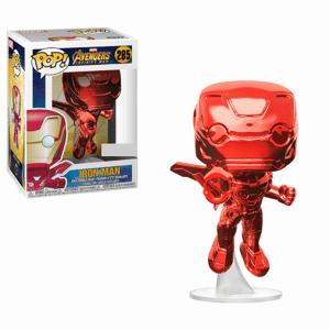 Funko Pop! Vinyl Marvel Avengers:Infinity War Iron Man (Red Chrome) EXC Pop! Vinyl Figure