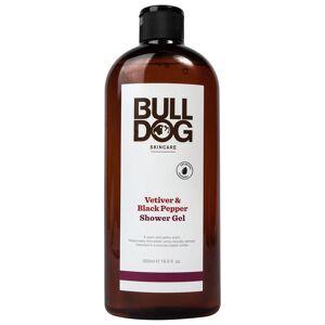 Bulldog Skincare for Men Bulldog Black Pepper & Vetiver Shower Gel 500ml