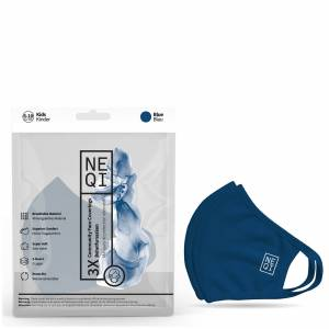 NEQI Kids' Re-Useable Face Mask - Navy (Pack of 3)