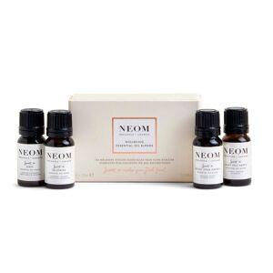 NEOM Essential Oil Blends 4 x 10ml (Worth £80.00)