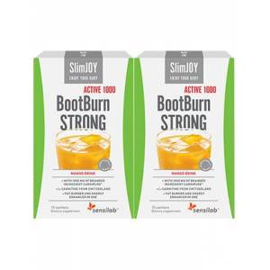 SlimJOY BootBurn STRONG ACTIVE 1000   Effective Fat Burning   Mango Flavour   30-day Programme   SlimJOY