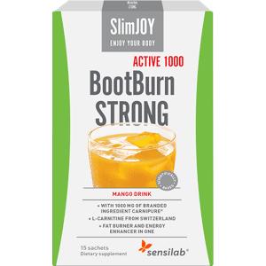 SlimJOY Fat Burner BootBurn STRONG ACTIVE 1000. Mango drink. 15 sachets