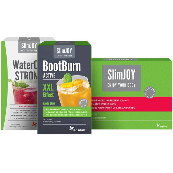 SlimJOY 30-day Slimming Programme  - fastest slimming effect product package