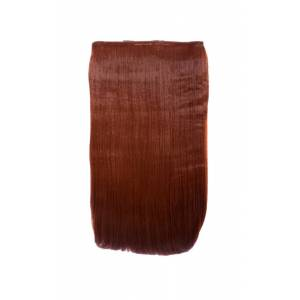 ikrush Women's Intense Volume Clip In Hair Extensions - Flicky Copper Red  in COPPER RED (Size: 1SZE)