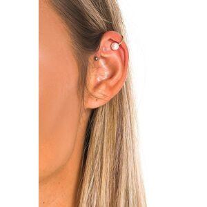 ikrush Women's Matilda Pearl Ear Cuff  in GOLD (Size: 1SZE)