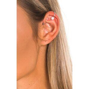 ikrush Women's Matilda Pearl Ear Cuff  in SILVER (Size: 1SZE)