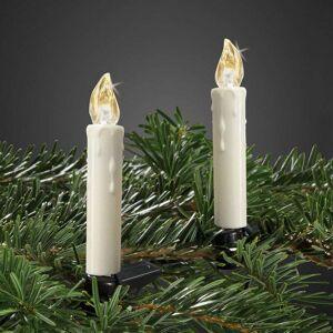 Hellum Mini LED Christmas tree candles, set of 10