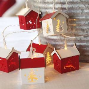 Best Season Battery-operated LED string lights Houses