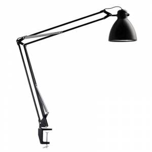 Luxo Innovative clip-on light L-1 LED Black