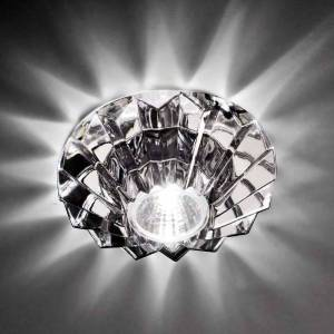Axo Light High voltage spotlight Nashir with lead crystal