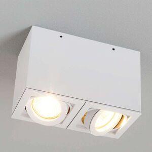 Egger Licht Two-bulb LIGHT BOX 2 ceiling spotlight, white