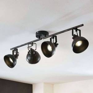 Lindby Lovro ceiling spotlight with four bulbs