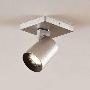 Lampenwelt.com Iavo spotlight, adjustable, aluminium, 1-bulb