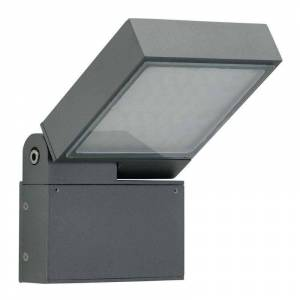Albert Leuchten LED outdoor wall light FlexFlat, anthracite