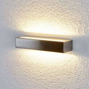 Lampenwelt.com Attractive LED wall lamp Jagoda for outdoors
