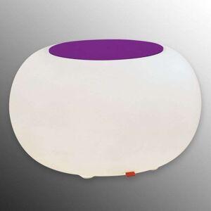 Moree Table BUBBLE Indoor RGB LED + violet felt