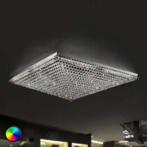Masiero Ascana impressive ceiling light with RGB LED