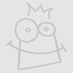 Baker Ross Christmas Foam Mask Kits (Pack of 4)