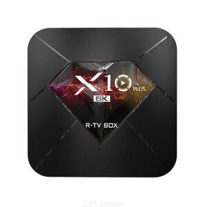 R-TV BOX X10 PLUS Android 9.0 TV Box H6 4GB + 32GB HD 4K  6K WiFi Media Player