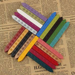 Sealing Wax Stick For Letter Wedding Invitations Vintage Cord Wick Retro Seal Stamps