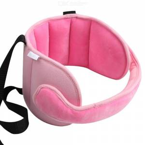 Baby Car Seat Head Support Adjustable Carseat Head Band Strap