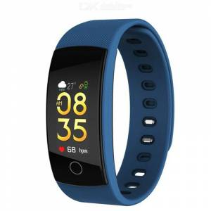 QS80 Plus Smart Bracelet Waterproof Sport Wristband Blood Pressure Heart Rate Monitor for Android IOS