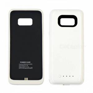 Ultra Thin 5V 5000mAh Emergency Backup Battery for Samsung S8  - White