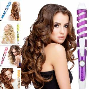Professional Hair Curler Magic Spiral Curling Iron Fast Heating Curling Wand Electric Hair Styler Pro Styling Tool - EU Plug