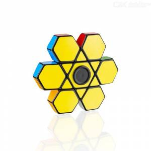 Speed Cube Strange-shape Magic Cube Puzzle Fingertip Spinner Puzzle Cube Educational Toys Stress Relief Toys