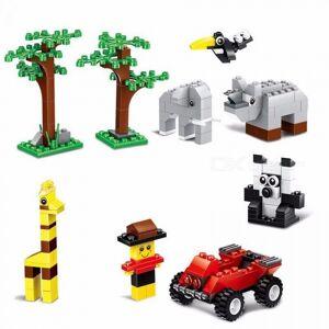 Wange 58231 625 Pcs Bulk Brick Building Blocks DIY Creative Bricks Toys Kid Educational Toys Compatible With Lego Bricks Multicolor/S