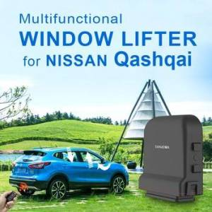 Car Power Window Closer lifter and Side Mirror Folding kit For N issan Qashqai 2016-2020 Remote Car Auto Power Window Closer