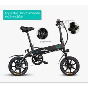 Foldable D1 Folding Electric Bicycle 250W 7.8Ah/10.4Ah 30 Degree 25km/h Bicycles LCD Screen 12-48 Teeth Rear Wheel Drive