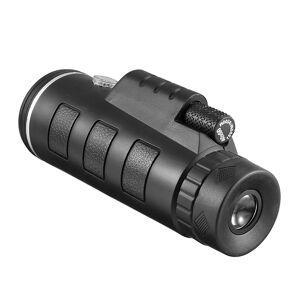 Mini 40X60 Monocular Telescope Focus HD Optics Lens Hiking Zoom For Outdoor Hunting Optical Prism Scope Night vision Tele Scope